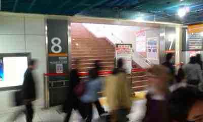 品川駅構内工事で運休の東海道